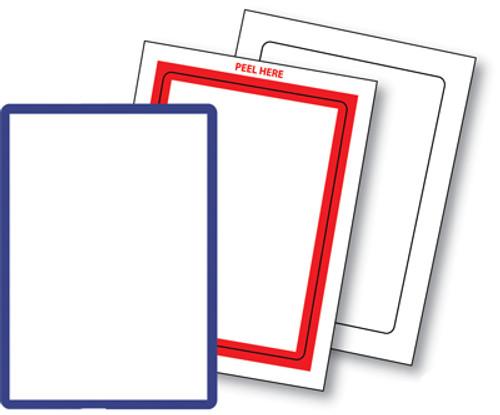 Blank & Border Stock Stickers