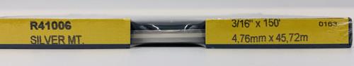 Prostripe 3/16 in x 150ft Double Silver Metallic Pinstripe (72005)