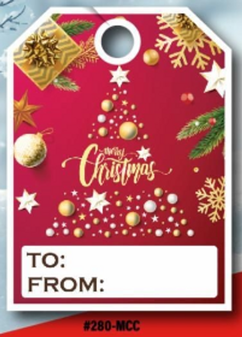 Merry Christmas Hang Tag  50 per pack