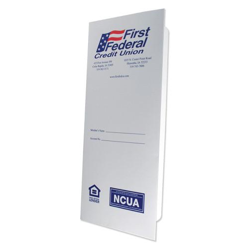 "Custom Document Folder 4 1/2"" x 10 1/4"""