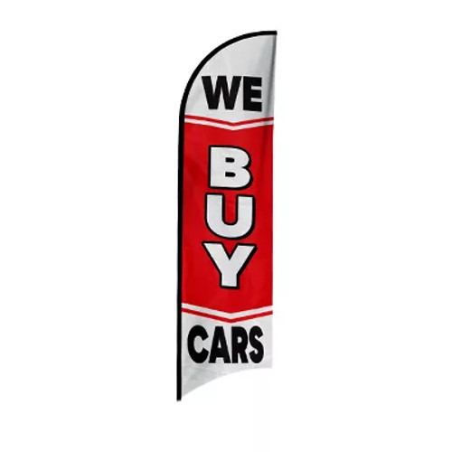 Feather Flag - We Buy Cars