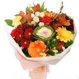 Get Well Bouquet in Fall Colour Flowers | Burnaby Florist | Adele Rae