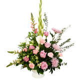 Coquitlam Sympathy Flowers with vase to home | Adele Rae Florist