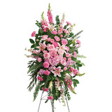 North Vancouver BC Funeral Flower Standing Spray | Adele Rae