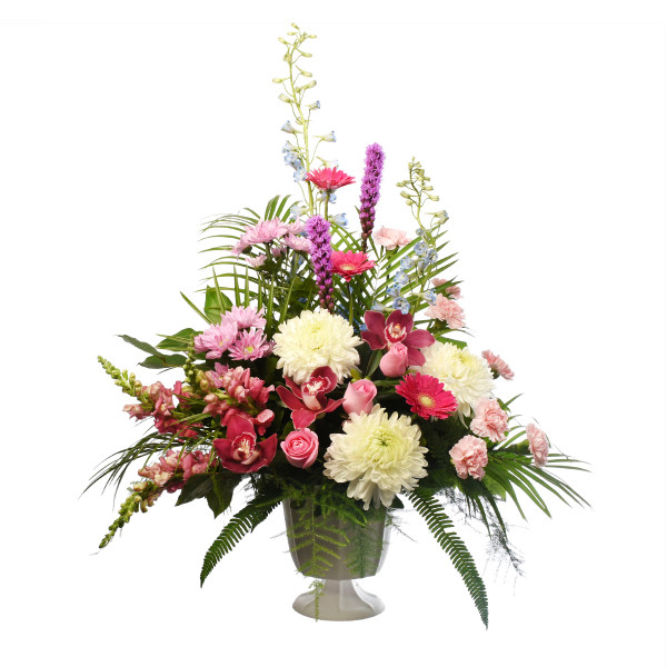 Send sympathy & funeral flowers to Vancouver & Burnaby from Adele Rae Florist.