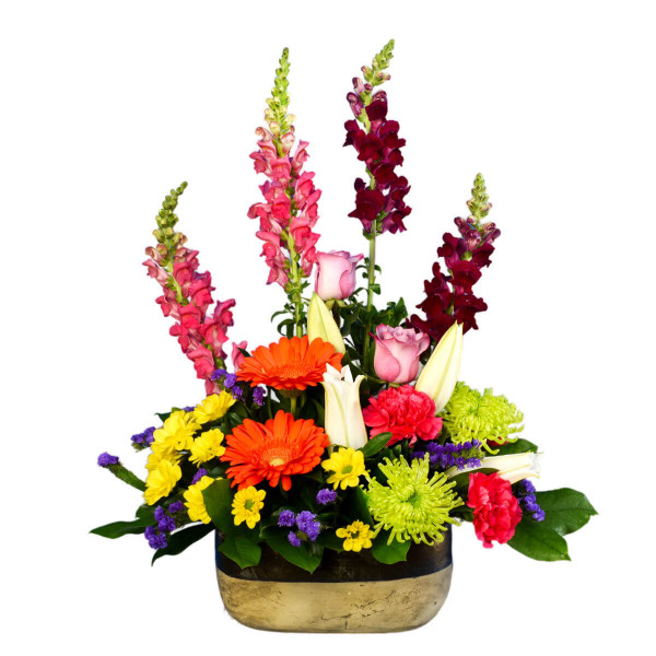 Garden style flower arrangement Vancouver | Adele Rae Florists | Flowers for any occasion