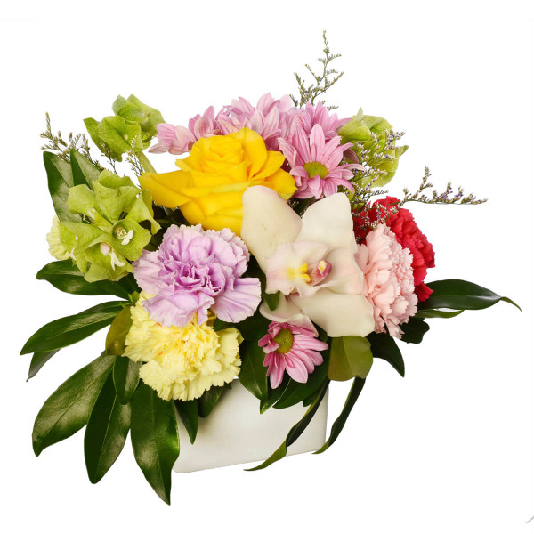 Mothers day flowers with pink blooms, Vancouver flower delivery from Adele Rae