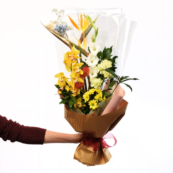 Mixed flower bright bouquet from Adele Rae Florist