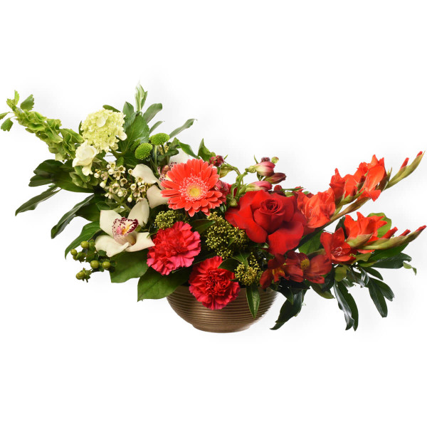 Floral design for birthday or romantic occasion from Burnaby Florist Adele Rae.