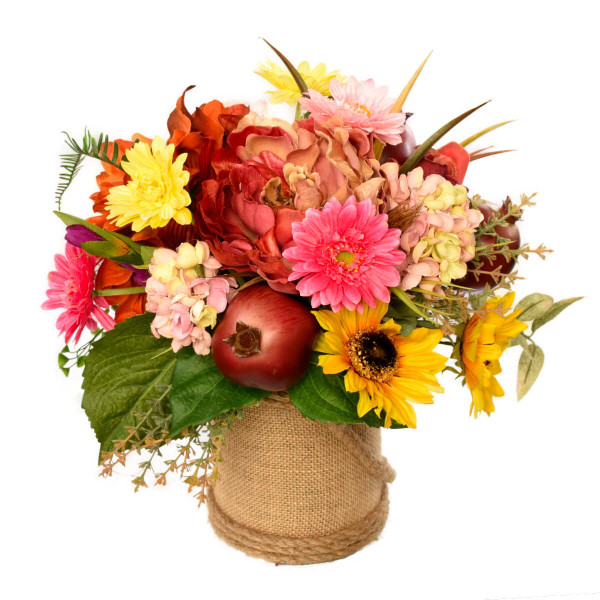 Silk flower arrangement and bouquets in Burnaby BC - Adele Rae