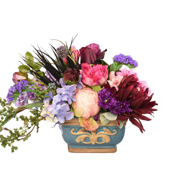 Silk flower arrangement for rent in Vancouver and Burnaby