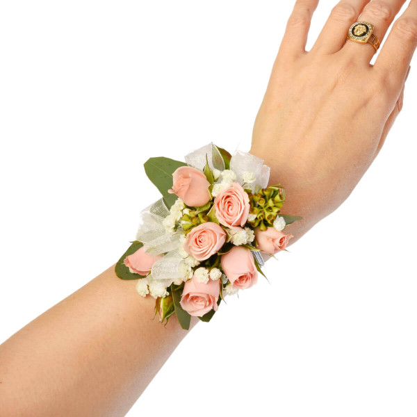 Beautiful and elegant corsage for a prom or graduation | Vancouver & Burnaby Florist Adele Rae