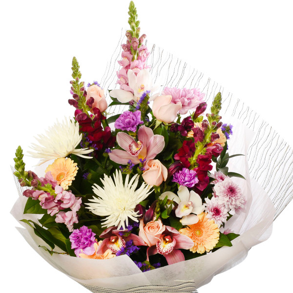 Luxurious and elegant flower bouquet for a Birthday or Anniversary from Adele Rae Florist | Burnaby Florist