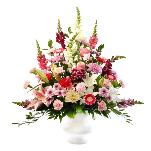 Sympathy Flower Arrangement for Delivery to Funeral Homes | Vancouver & Burnaby Funeral Florist Adele Rae