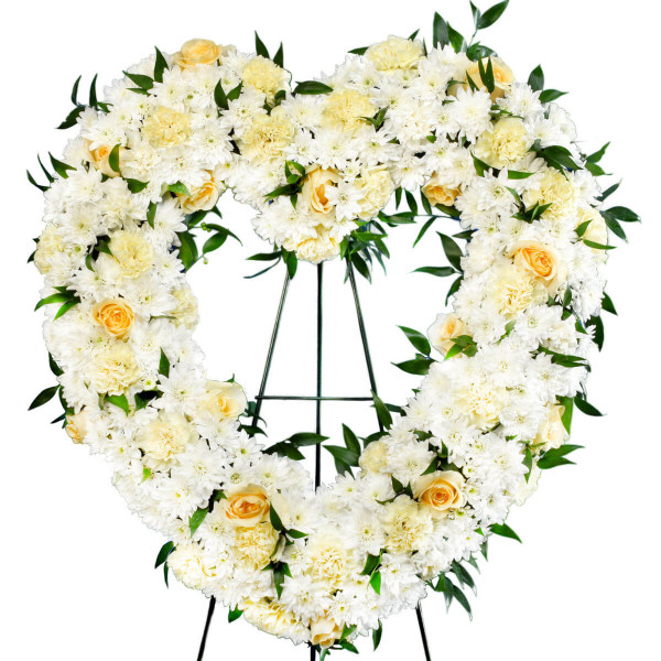 Vancouver Funeral Flower Heart Delivery | Funeral Florist Adele Rae in Burnaby
