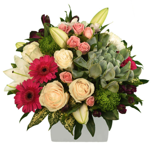 Elegant Birthday Flower Arrangement | Burnaby BC Canada Delivery