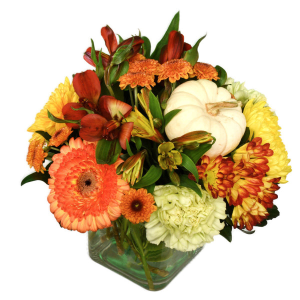 Vancouver Thanksgiving Flower Centerpiece | Burnaby Flower Delivery | Adele Rae Florist
