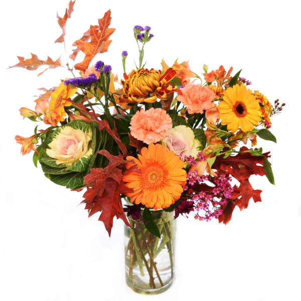 Fall Flower Arrangement | Birthday Flowers | Local Florist in Burnaby Adele Rae