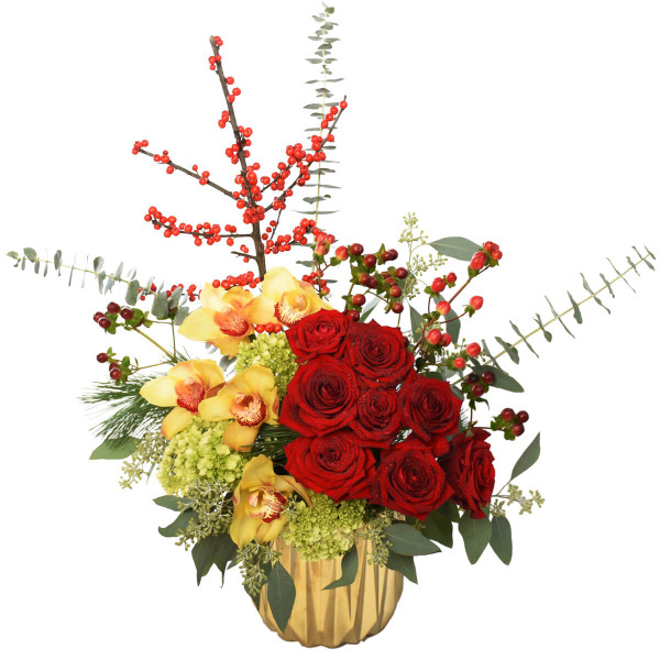 Vancouver Luxury Chinese New Year Flower Arrangement | Adele Rae Florist