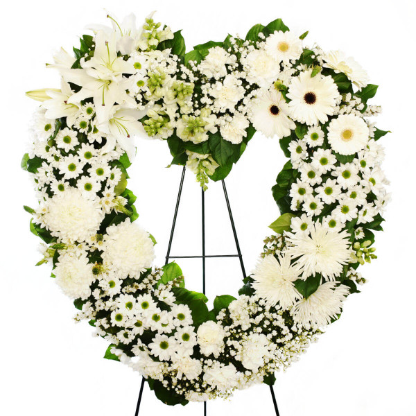 Vancouver Funeral Flower Heart Delivery | Adele Rae Florist