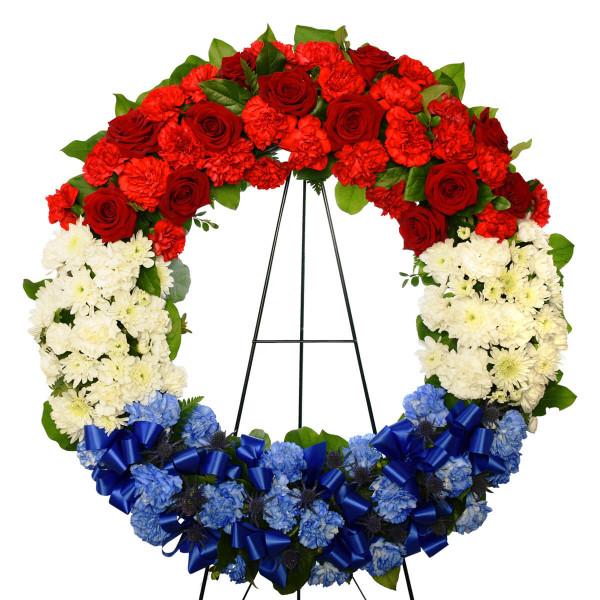 Croatian Funeral Flower Wreath Burnaby Delivery | Adele Rae