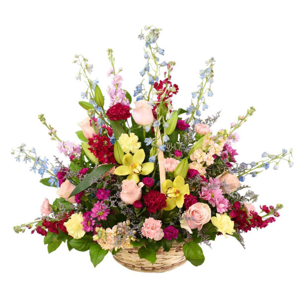 Sympathy Floral Basket Burnaby BC Delivery | Adele Rae