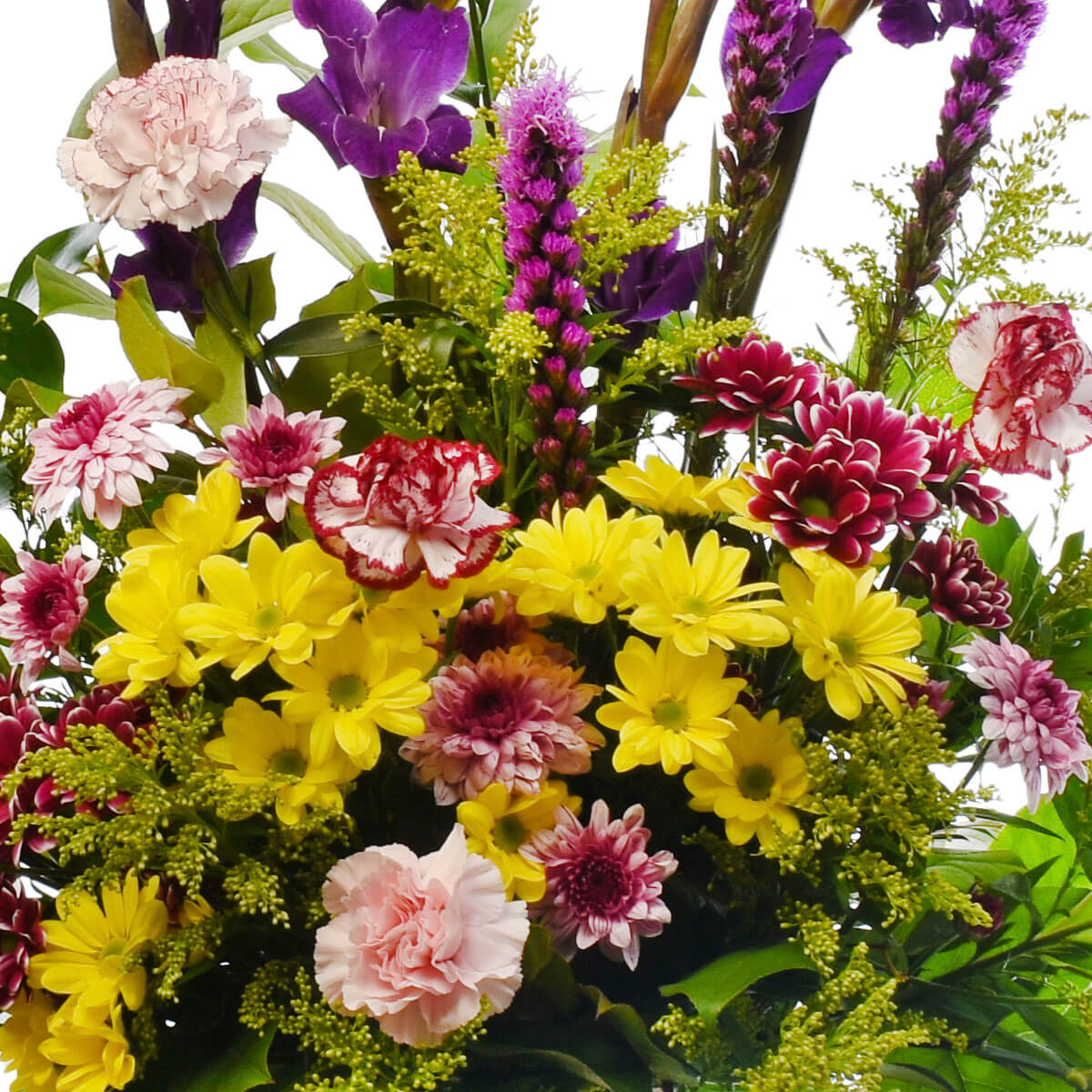 Sympathy flower arrangements for delivery in Burnaby and Vancouver.