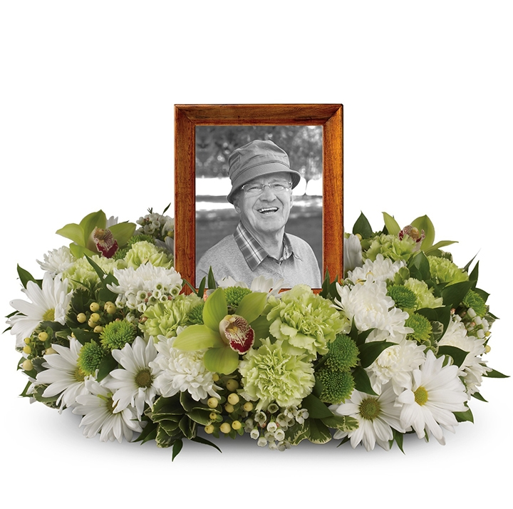 Flowers for a funeral or memorial service - Burnaby BC Adele Rae