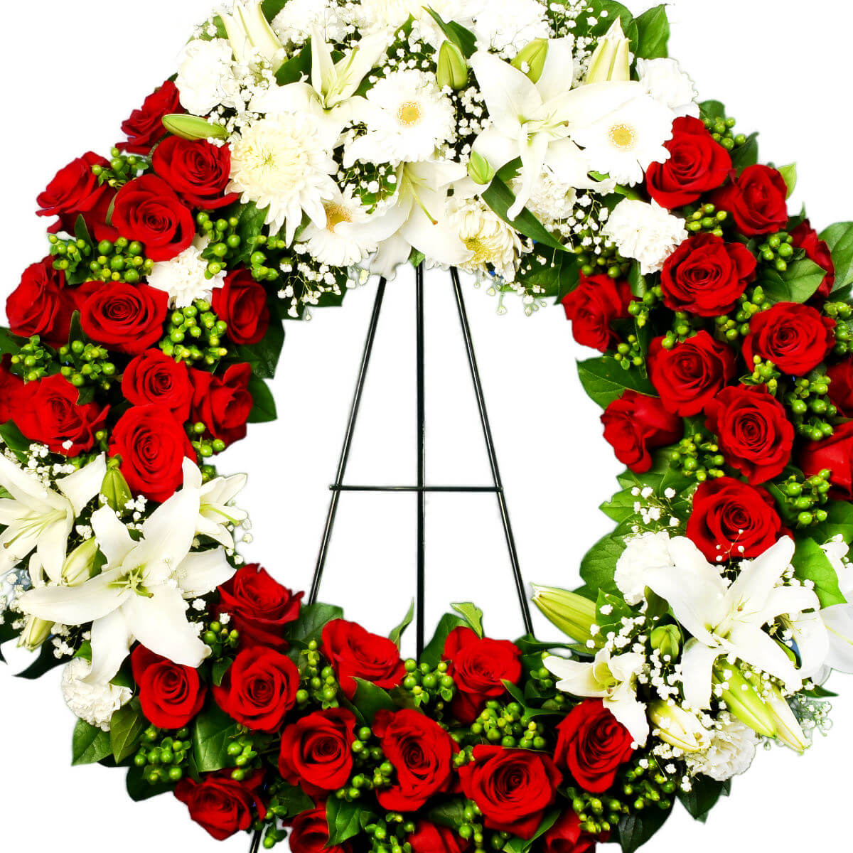 North Vancouver Funeral Flower Wreath | Vancouver Florist Adele Rae