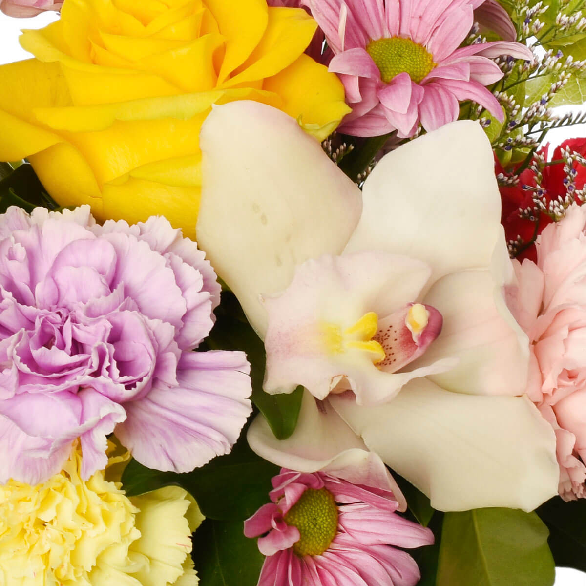 Flowers for mom in pink blooms for Vancouver and Burnaby delivery Adele Rae Florist.