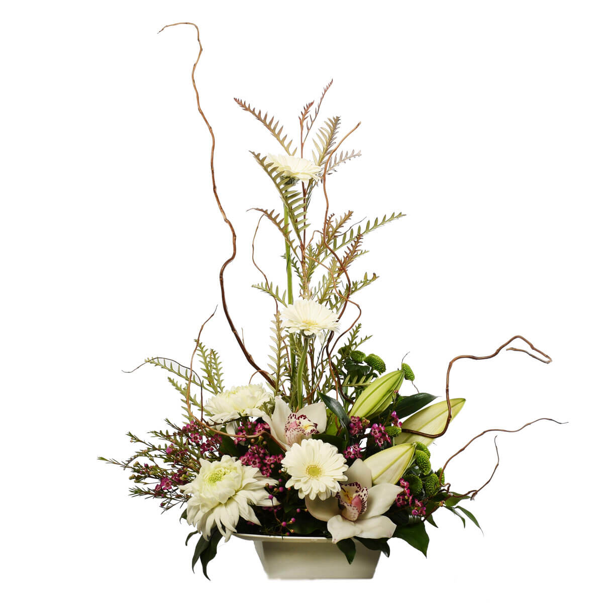 Funeral flower arrangements for home for delivery in Vancouver and Burnaby