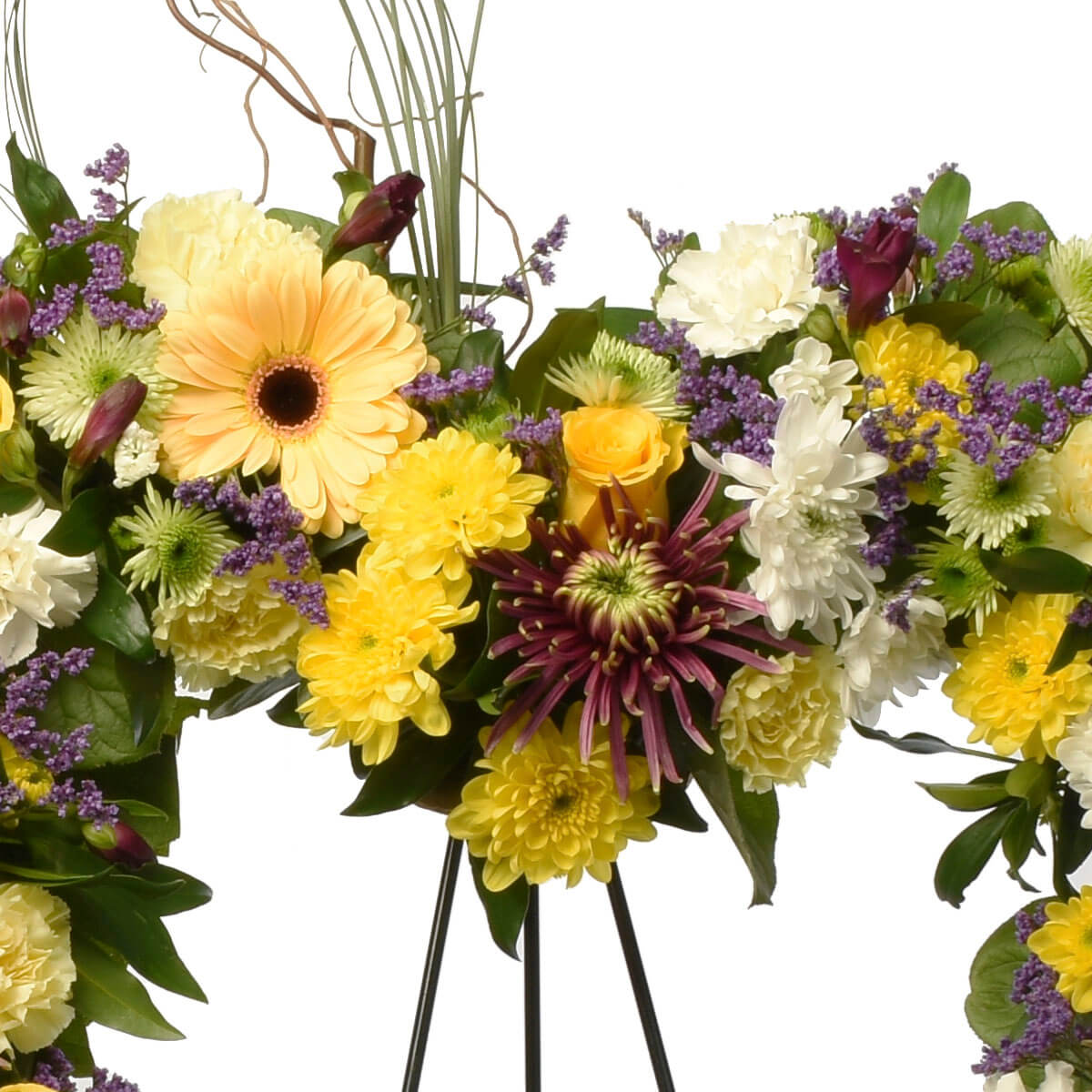 Sympahty wreath 24 inches for delivery in Burnaby and Metro Vancouver from Adele Rae Florist