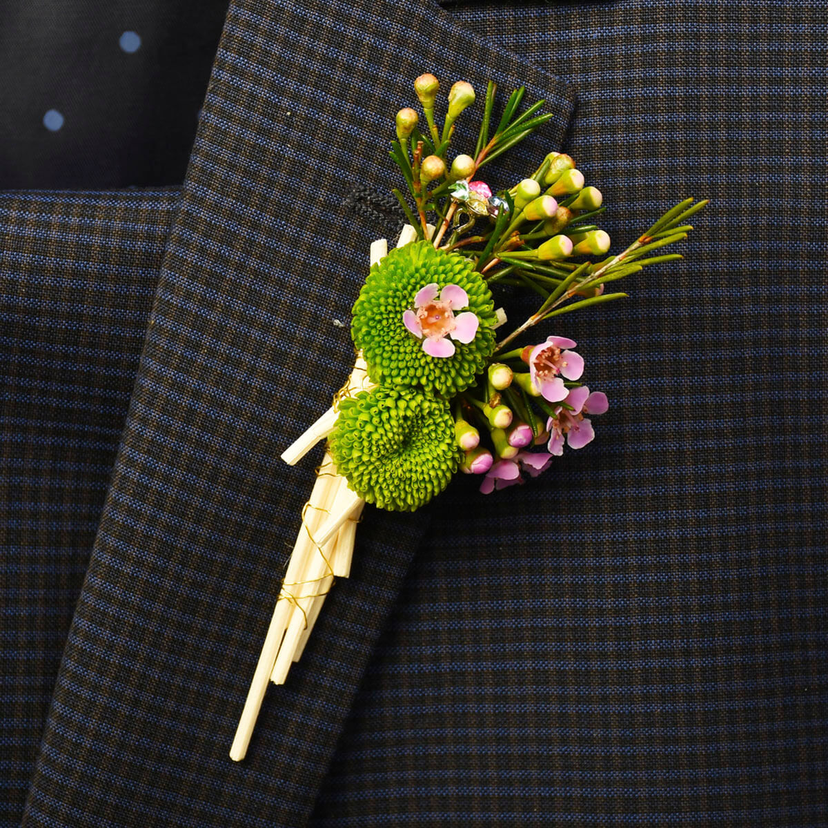 Floral boutonniere for prom and weddings | Vancouver Adele Rae Florist