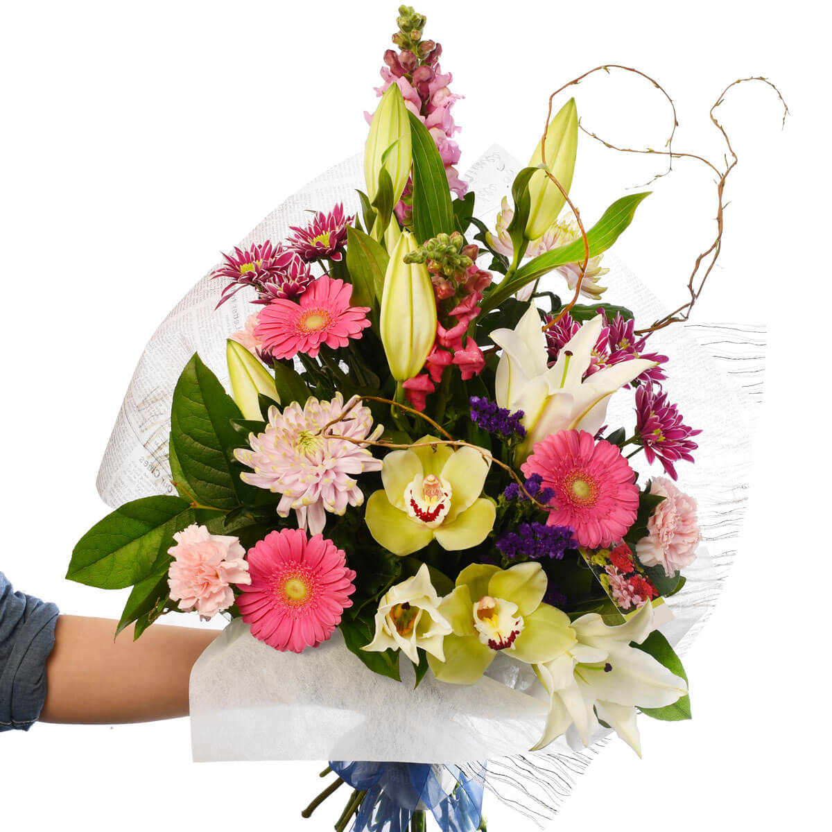 Happy Birthday Flower Bouquet Delivery In Vancouver From Adele Rae Florist