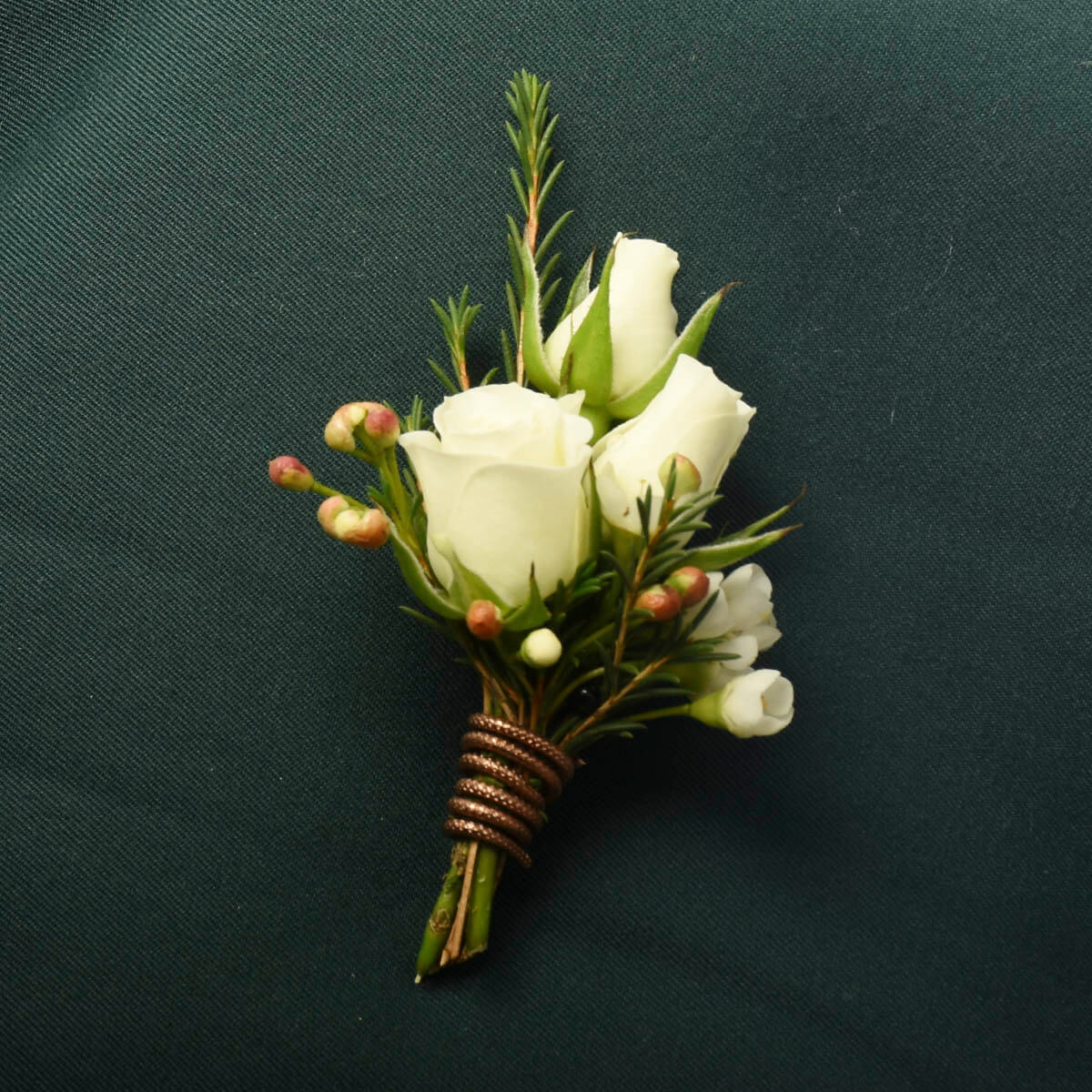 North Vancouver beautiful wedding boutonnieres | Adele Rae Florists