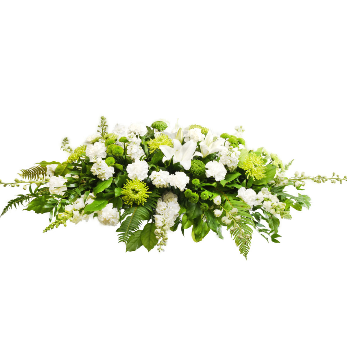 Vancouver Funeral Flower Casket Spray Delivery | Funeral Florist Adele Rae