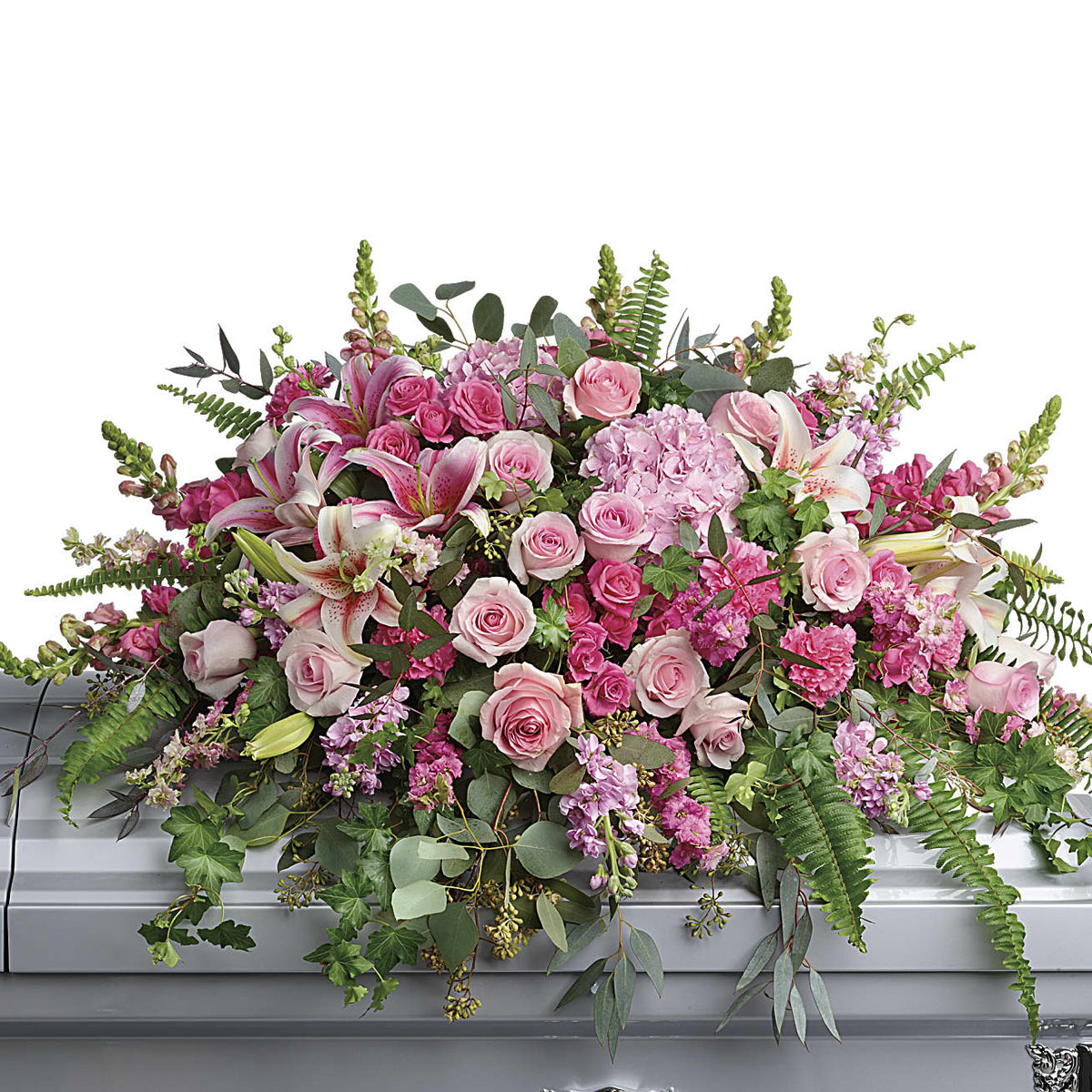 Vancouver BC Funeral Flowers Casket Spray for Her   Adele Rae