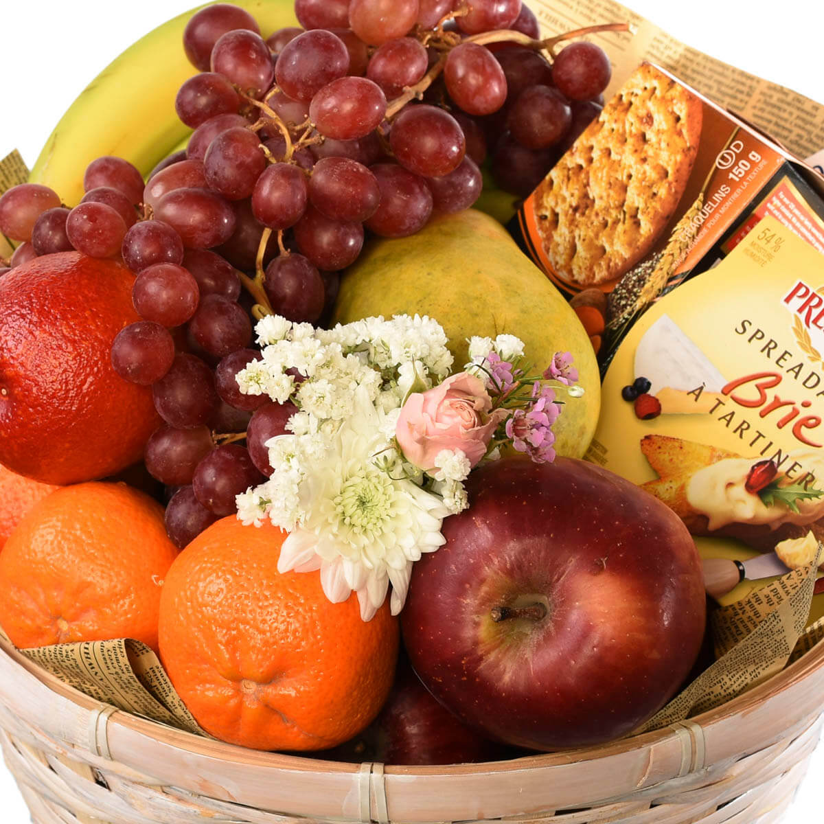 Fruit basket for delivery to Burnaby BC | Adele Rae Florists