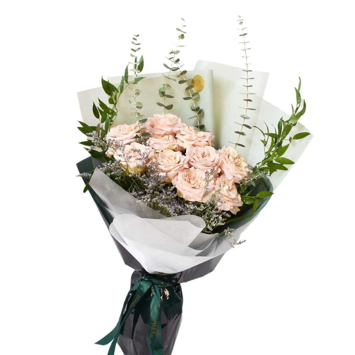 Garden roses fresh bouquet delivery in Burnaby BC | Adele Rae