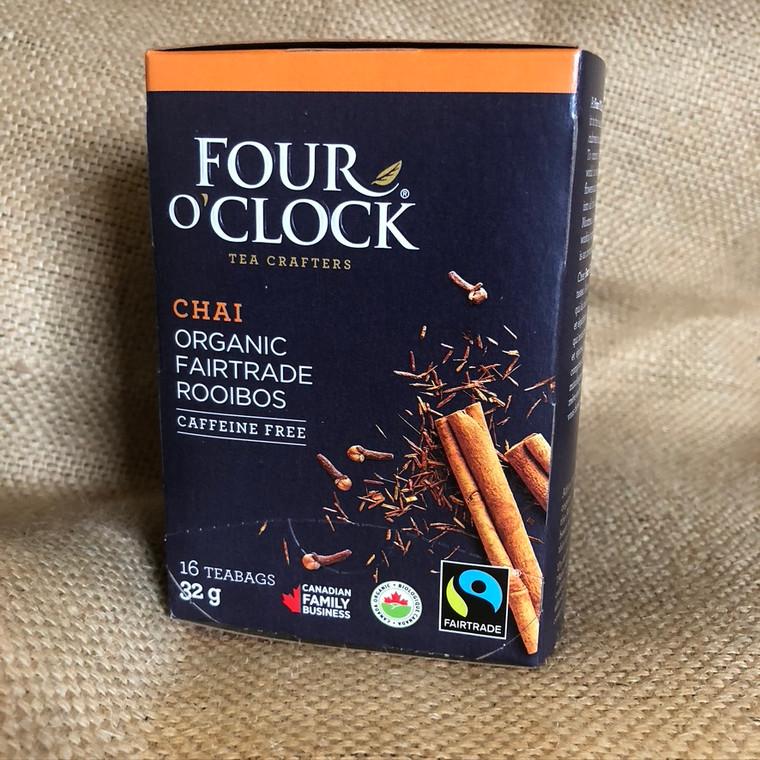 Rooibos Chai Herbal Tea Fairtrade Organic