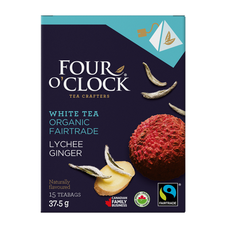 LITCHEE GINGER WHITE TEA ORGANIC-FAIRTRADE