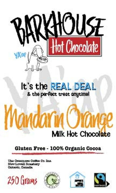 Barkhouse Mandarin Orange Milk Hot Chocolate
