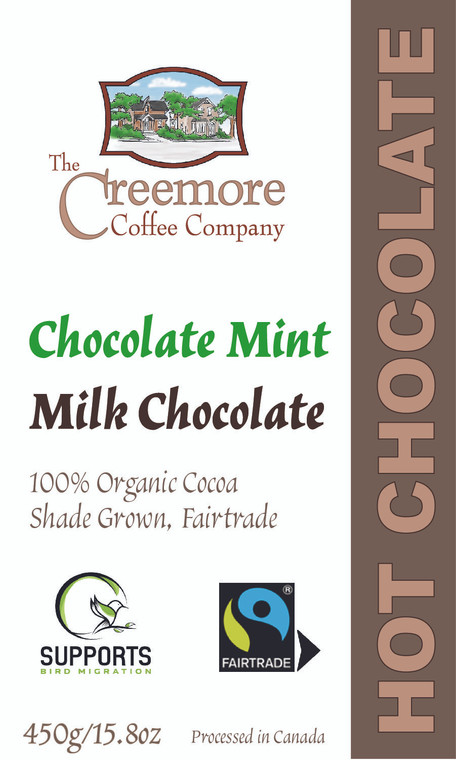 Milk Hot Chocolate Mint