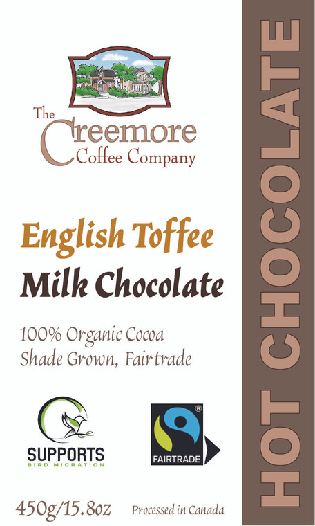 Milk Hot Chocolate English Toffee