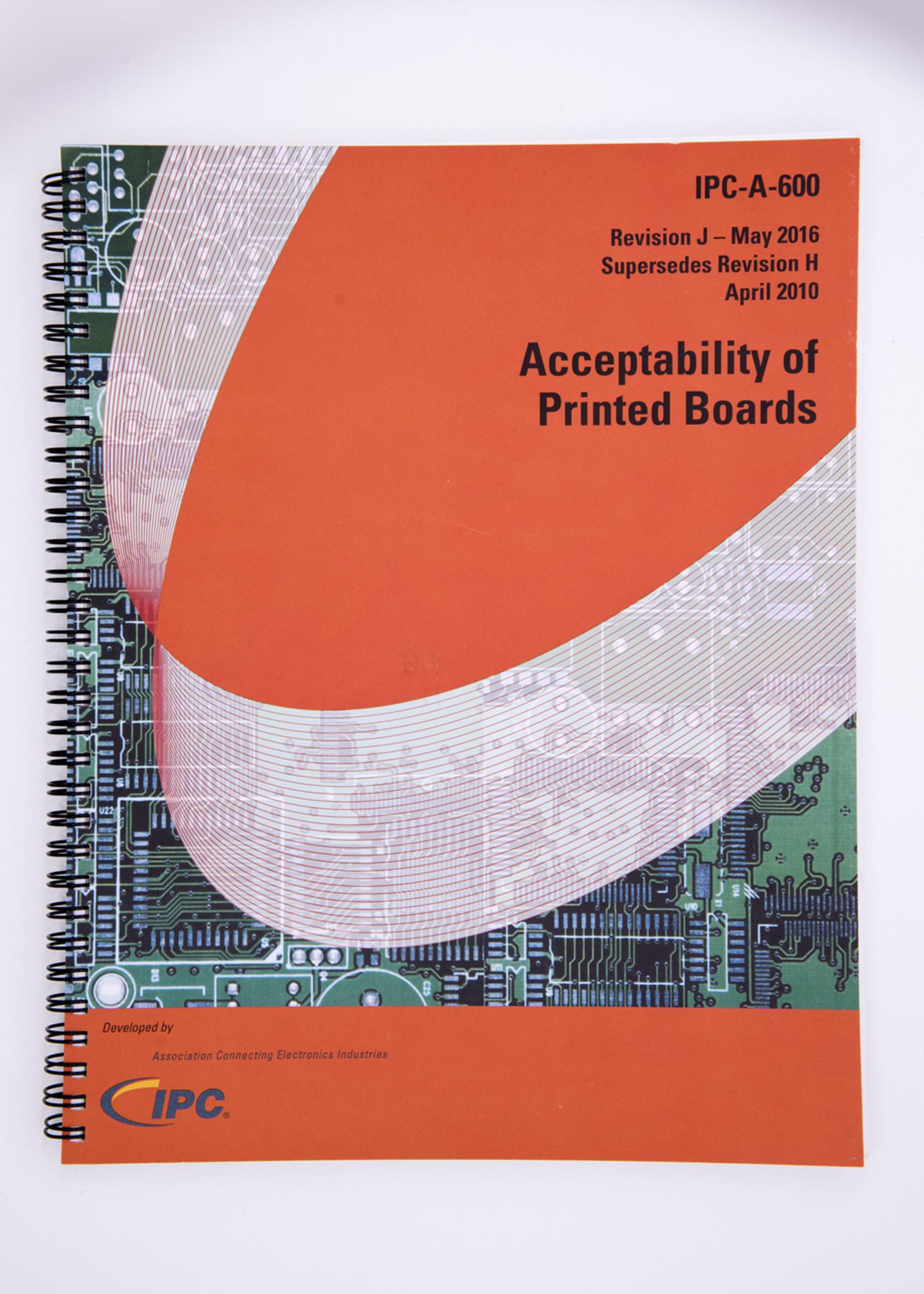 IPC-A-600J Standard (Revision J)