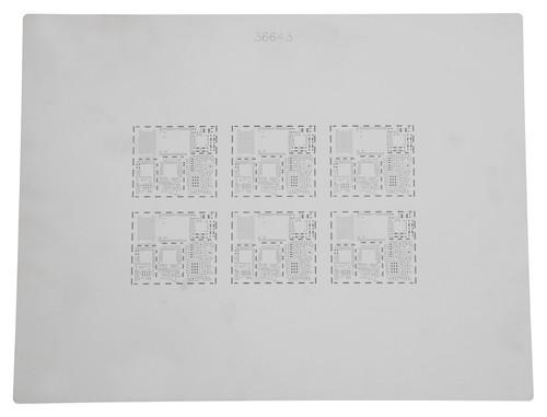 SMT foil stencil