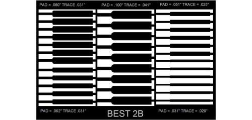 BEST 2B Circuit Frame Dry Film