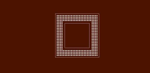 Reballing Preform for MPC 8241 Motorola Power PC