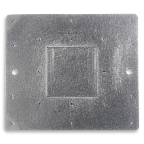 Flux dipping plate for rework