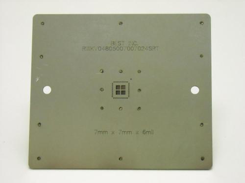 SRT component printing stencil 1